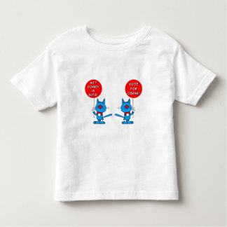 Romney is nuts vote for Obama Toddler T-shirt