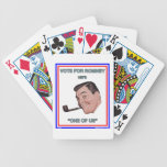 """Romney is """"One of Us"""" Bicycle Playing Cards"""