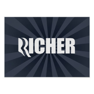 ROMNEY IS RICHER.png Print