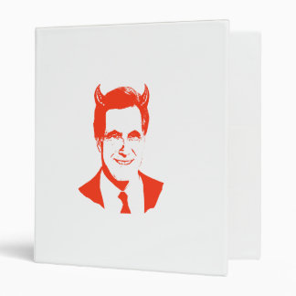 Romney is the Devil 3 Ring Binders