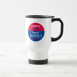 Romney JOBS Travel Mug