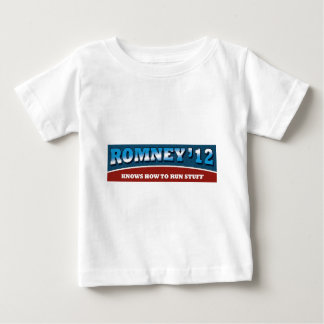 Romney- Knows How To Run Stuff Baby T-Shirt