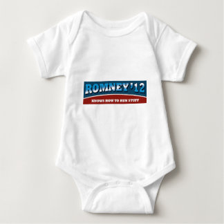 Romney- Knows How To Run Stuff Tees