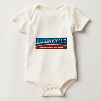 Romney- Knows How To Run Stuff Bodysuit