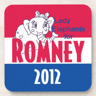 Romney LADY ELEPHANTS Coaster