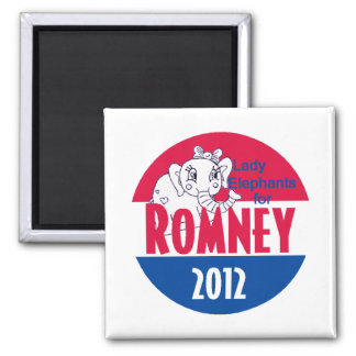 Romney LADY ELEPHANTS Magnet