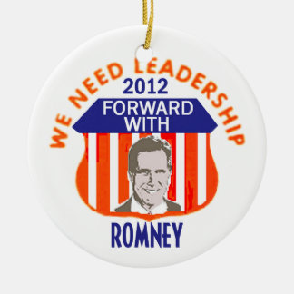 Romney LEADERSHIP Ornament