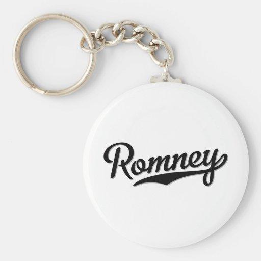 Romney Llavero Redondo Tipo Pin