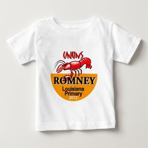 Romney LUISIANA Cajun Playera Para Bebé