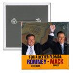 Romney-Mack 2012 2 Inch Square Button