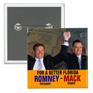 Romney-Mack 2012 Buttons