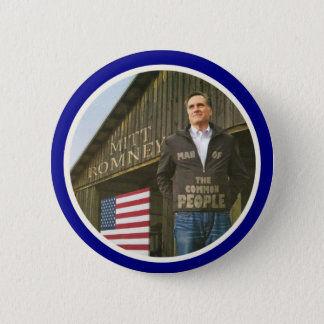 Romney: Man of the People Pinback Button