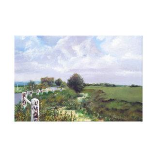 Romney Marsh Canvas Print