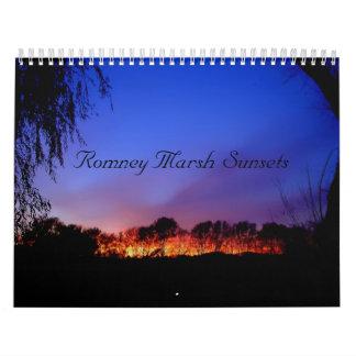Romney Marsh Sunsets Calendar