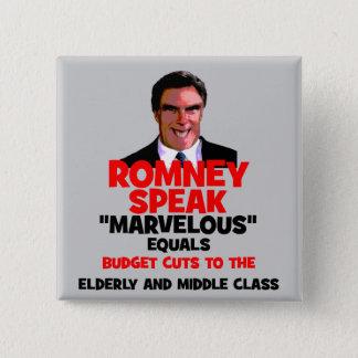 Romney marvelous button