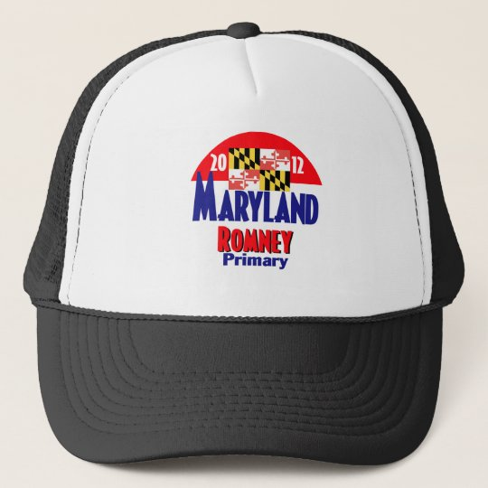 Romney MARYLAND Trucker Hat