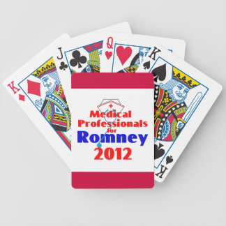 ROMNEY Medical Bicycle Playing Cards