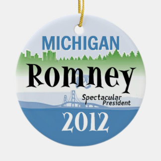 ROMNEY MICHIGAN ORNAMENTS