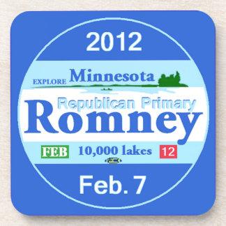 Romney MINNESOTA Posavasos