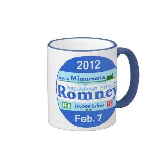 Romney Minnesota Taza De Dos Colores