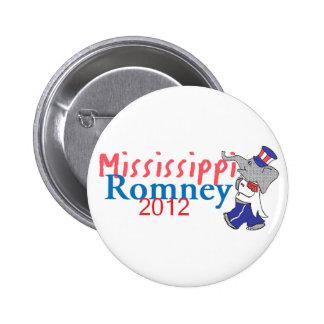 Romney MISSISSIPPI Button