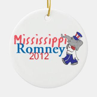 Romney MISSISSIPPI Ornament