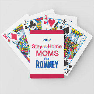 ROMNEY Moms Bicycle Playing Cards