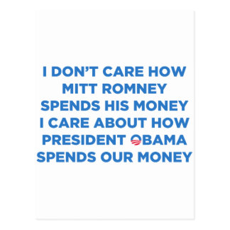 Romney Money Postcard