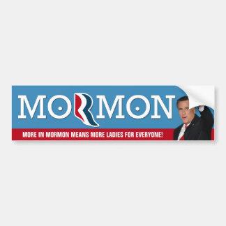 Romney - More for everyone! Bumper Sticker