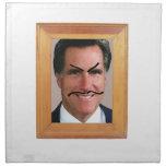 Romney Mustache.png Servilleta De Papel