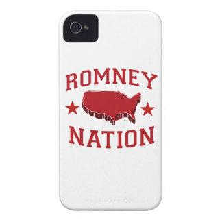 ROMNEY NATION iPhone 4 Case-Mate CASE