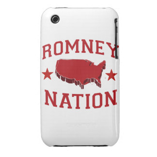ROMNEY NATION iPhone 3 CASE