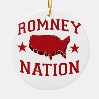 ROMNEY NATION CHRISTMAS TREE ORNAMENT