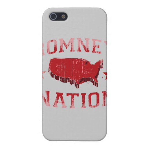 ROMNEY NATION.png iPhone 5 Funda