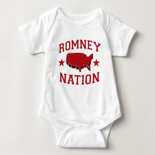 ROMNEY NATION T SHIRTS