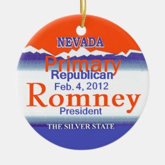 Romney Nevada Ornament