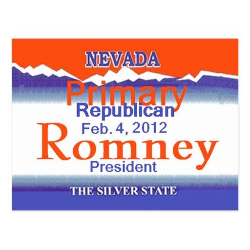 Romney Nevada Postcard