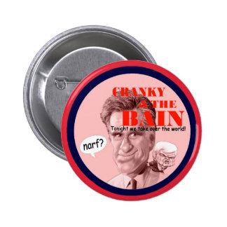 Romney & Newt Pinback Button