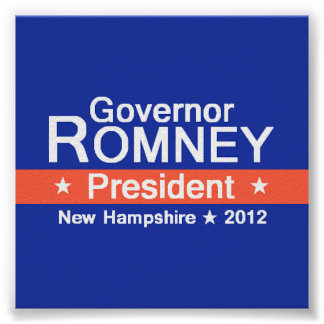 Romney NH 2012 Poster