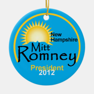 Romney NH Ornament
