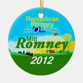 Romney OHIO Ornament