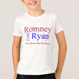 Romney/onda de la estrella de Ryan Playera