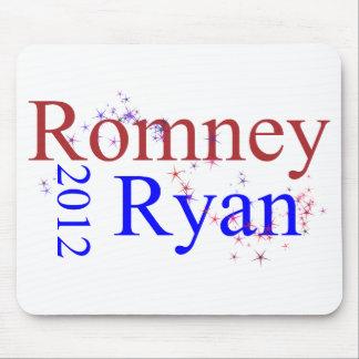 Romney/onda de la estrella de Ryan Tapete De Raton