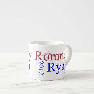 Romney/onda de la estrella de Ryan Taza Espresso