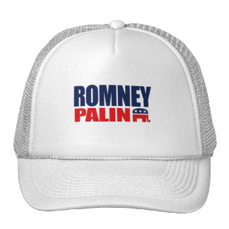 ROMNEY PALIN TICKET 2012.png Trucker Hat