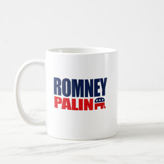 ROMNEY PALIN TICKET 2012.png Classic White Coffee Mug