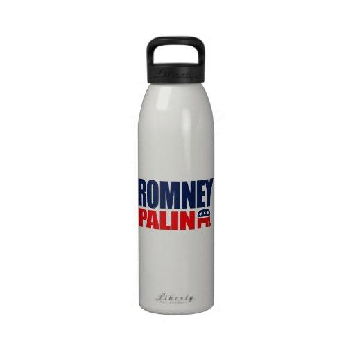 ROMNEY PALIN TICKET 2012.png Reusable Water Bottle