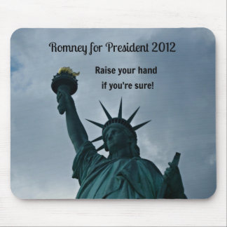 Romney para el presidente 2012 alfombrilla de ratones
