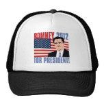 Romney para el presidente 2012 gorro de camionero