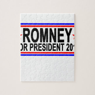 ROMNEY PARA el PRESIDENTE 2016 camisetas .png Rompecabezas Con Fotos